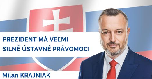 Milan Krajniak prezident